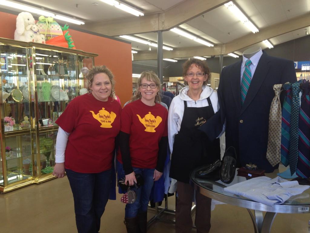 Teashop Family Volunteer Days at Hillcrest Hope