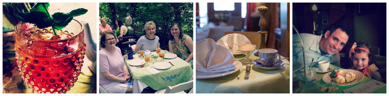Tea Parties at Anna Marie's Teas
