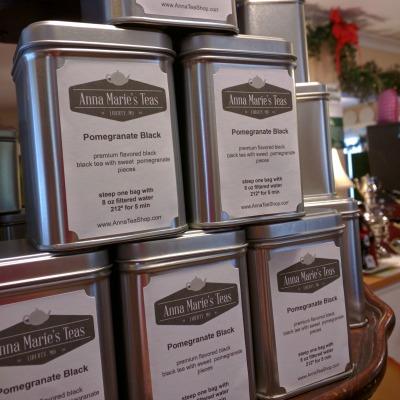 Tea Bag Gift Tin