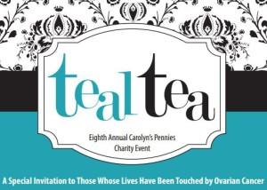 Carolyn's Pennies Teal Tea