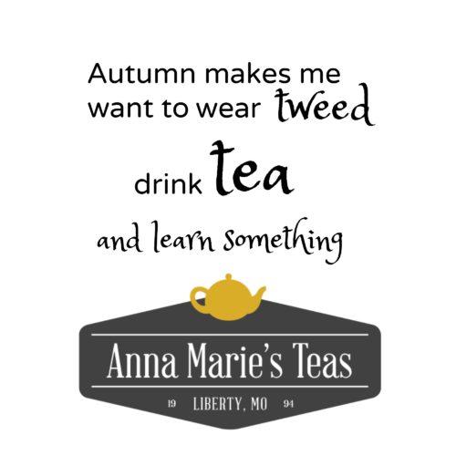 Autumn Tea Blends