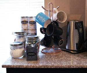DIY Tea Station